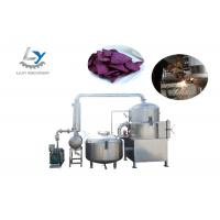 Electric Continuous Vacuum Frying Machine Steam / Thermal Oil Heating EasyOperate