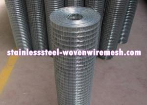 China Durable Stainless Steel Welded Wire Fabric , Stainless Steel Wire Mesh Panels on sale