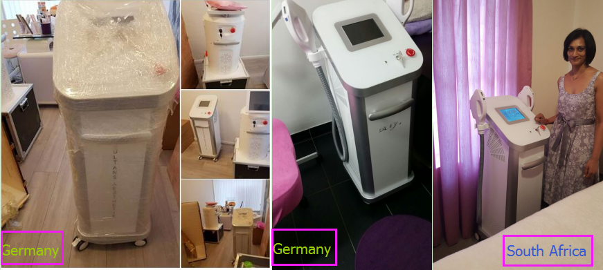 beauty equipment multifunctional 3 in 1 Permanent e-light xenon lamp elight shr lase ipl hair removal machine