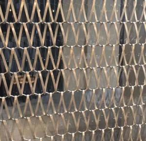 Stainless Steel Decorative Wire Mesh For Cabinets Window Screen