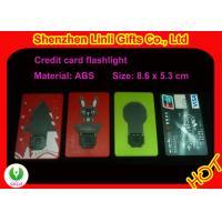 China OEMの昇進のための携帯用クレジット カードの形LEDの点滅のおもちゃHLT1102026 on sale