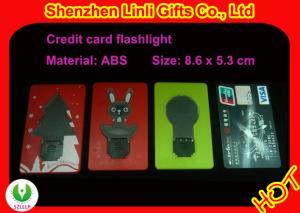 China Da forma portátil do cartão de crédito do OEM brinquedos de piscamento HLT1102026 do diodo emissor de luz para relativo à promoção on sale