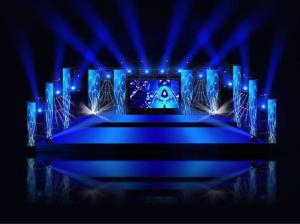 China 576*576mm Rental LED Display Full Color Indoor P6 LED Video Wall Rental on sale