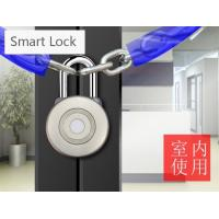 China Smart Door Long Standby Logistic Moss Code Bluetooth Smart Padlock With APP Control on sale