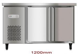 China Stainless Steel Commercial Refrigerator,Workbench Freezer,Undercounter Freezer with Energy-saving & Low Noise on sale