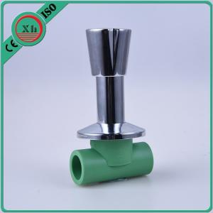 China High Temperature Air Control Valve PPR / Brass Material Simple Operation on sale