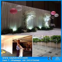 RK Heavy load decent stage curtain backdrops big tents for weddings pipe& drape