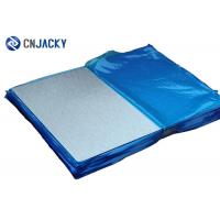 0.8mm Brush Effect Press Steel Plate Pvc Card Material For Card Making In Stock