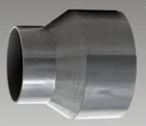 China White Rigid Plastic Pipe Reducer Fitting High Stiffness Easy To Install on sale