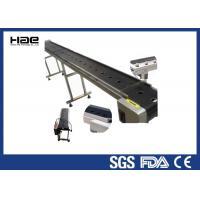 Food Processing Industrial Conveyor Belts Green PVC / PU Custom Conveyor Belts
