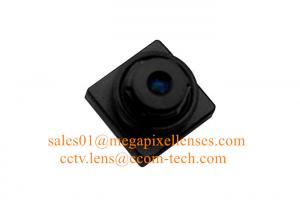 China 1/3 4.3mm F2.4 5Megapixel M6.5x0.25 mount non-distortion lens, smart phone lens on sale