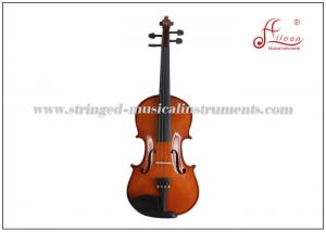China Aileen 3/4, 4/4, 1/2, 1/4 Musical Full Size Attractive reddish brown varnish Student Violin Outfit on sale