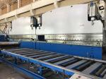 Anchura en tándem hidráulica sincrónica segura 2-1200T/7000m m del freno 14000m m de la prensa del CNC