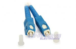 China SC to PC Single Mode Optical Fiber Patch Cable 8.3 / 125 um for Fiber Accessories on sale