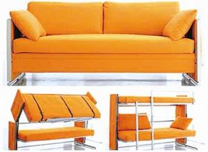 Quality Double Decker Sofe Bed Transformable Sofa For Small Artment