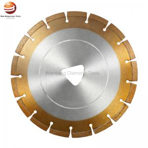 China Triangle Arbor 250mm Diamond Blade for Fresh Concrete Soft Cut Machine on sale