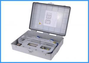 China High Capacity Fiber Optic Termination Box , 96 Cores Wall Mount Enclosures on sale