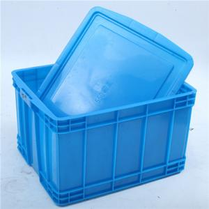 China Plastic Nestable Tote box Attached Lid on sale
