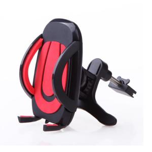 China Super Black/ Red Universal Car Air Vent Phone Holder on sale
