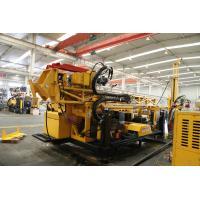 Track Crawler Mounted Hydraulic Mining Drilling Rig 400m PS Rod CSD1300G