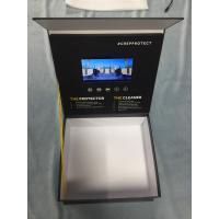 China Video Box LCD Video Brochure 7 Inch LCD Screen HD 8GB Memory Wooden Box Lighting Sensor on sale