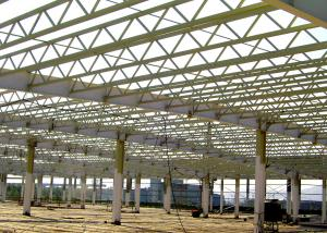 China Truss Roof Steel Structure Warehouse For Factory Buildings Construction on sale