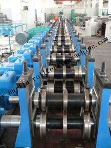 China Cold / Hot Rolled Quick Interchangeable C Z Purlins Rolling Forming Machine 1.5 - 3.0mm on sale