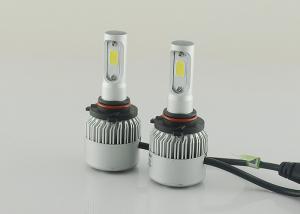 China 6500K S2 Series 12V LED Headlight 9005 COB Conversion Fog Light Kits 8000LM 72W on sale
