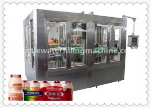 China Automatic Bottle Soybean Milk Hot Filling Machine With 8 Capping Head on sale