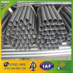 Q235 Black Round ERW Welded Steel Pipe