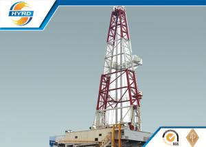 China Hydraulic Oil Drilling Rig , Pneumatic Oil And Gas Drilling Equipment ZJ50/3150DBS on sale
