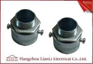 China Adaptador flexible galvanizado electro del conducto del cinc para el tubo del conducto del SOLDADO ENROLLADO EN EL EJÉRCITO on sale