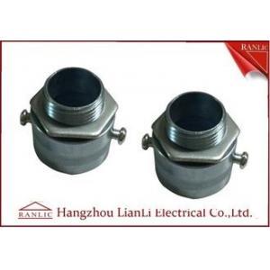 China Adaptateur flexible de conduit galvanisé par électro de zinc pour le tuyau de conduit de GI on sale