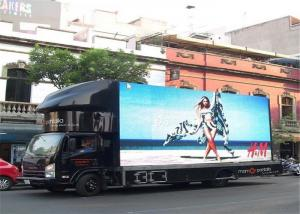 China P6 Outdoor Truck Mobile LED Display , IP65 IP Grade Mobile LED Screen on sale