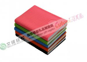 China Line Office Notebook With Silicone Cover In Honeycomb Shape Supplier on sale