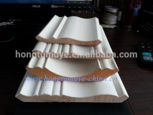 China Primed Wood/MDF Decorative Ceiling Crown Moulding on sale