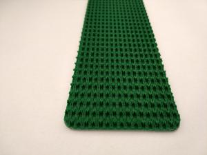 China Green Color Rough Top PVC Conveyor Belt Replacement High Performance Wear Resistant on sale