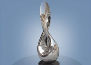 Contemporary Abstract Stainless Steel Metal Sculpture For
