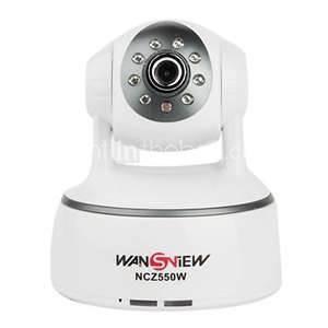 China 1 / 4 CMOS sensor IR - cut PTZ IP Cameras, Plug and Play Connection, H.264 / MPEG4 / JPEG on sale