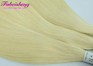 China Raw Brazilian Honey Virgin Remy Colored Hair Extensions 613 Blonde Hair Weave on sale