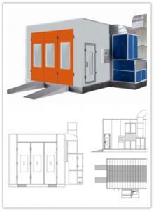 China Horizontal Laminar Air Flow Vertical Clean Room Equipment 0.3m/s - 0.6m/s on sale