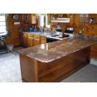 China United States Popular Precut Granite Countertops / Stone Effect Kitchen Worktops on sale