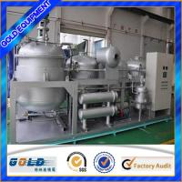 China China waste car oil recycling distillation refinery to get diesel oil on sale