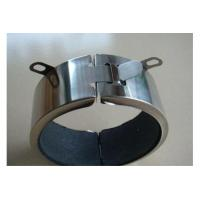 Ring Galvanized Fire Collars For Soil Pipes With Q235 Paint Red Metal Color
