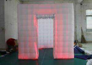 China Outdoor Inflatable Photo Booth Double Triple Stitches Customized Color on sale