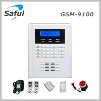 Saful GSM-T1 Saful GSM-9100 GSM & PSTN Security Alarm System Display Anti-thief alarm burglar alarm system