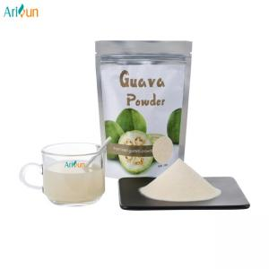 China Pure Natural Guava Juice Freeze Dried Fruit Powder For Weight Loss Diabetes Medicinal Uses on sale