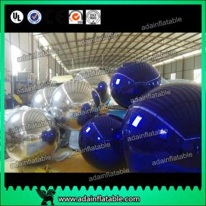 China Giant Glossy PVC Advertising Air Balloons , Customized Mirror Balloons on sale