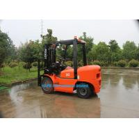 3 Ton Diesel Forklift Truck With Isuzu C240 Engine Fork Length 1070mm Solid Tyre