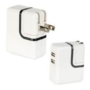 China white 110-240V AC super lower 5v 2100ma universal usb power adapter for ipad on sale